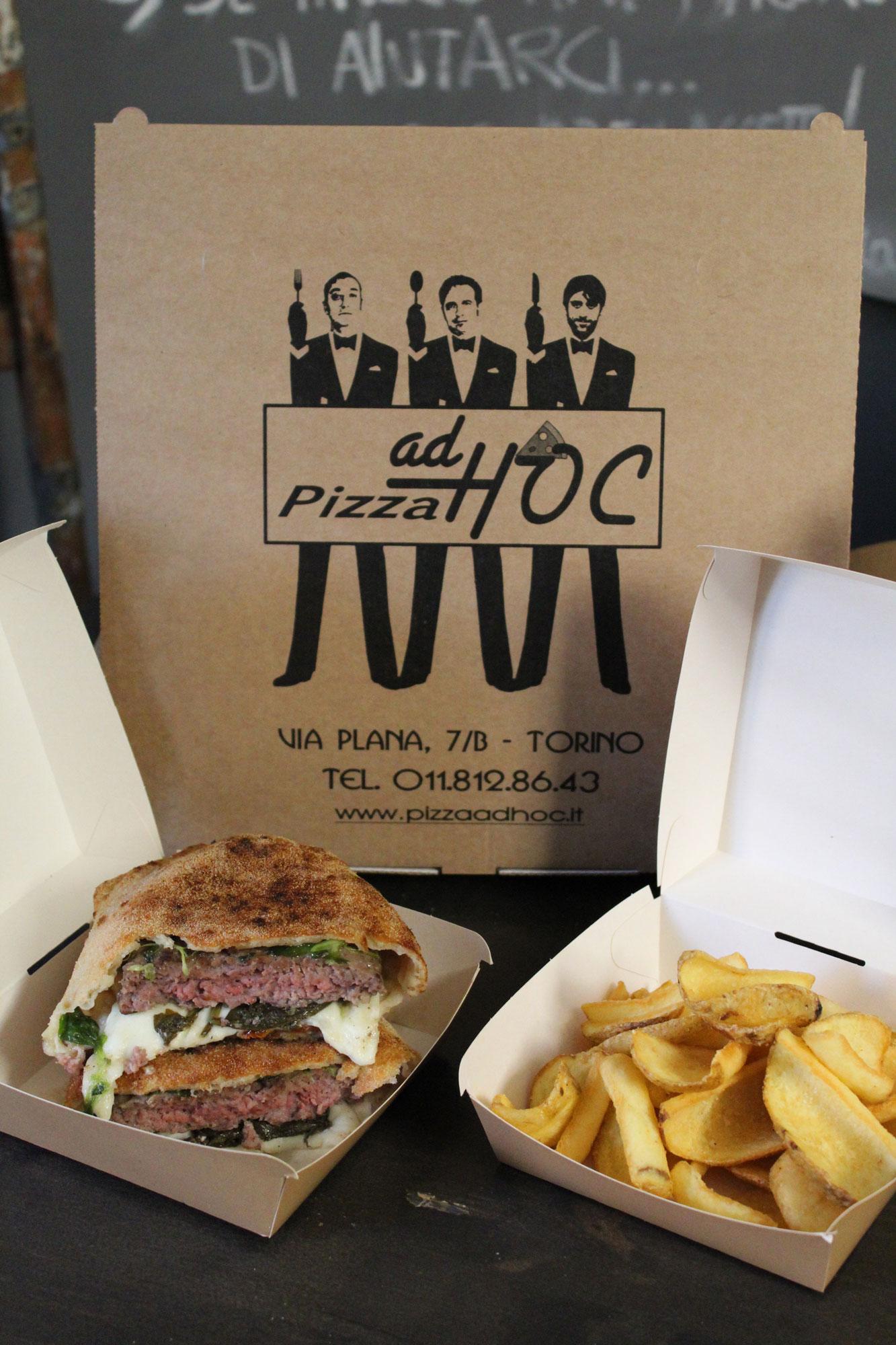 Ciapalon Pizzaburger di Pizza Ad Hoc Torino